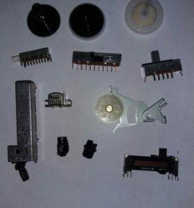 Детали для японских магнитофонов SHARP