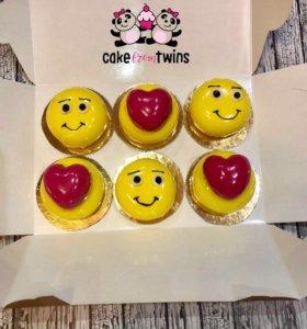 Муссовые торты и пирожные