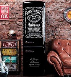 Дизайнерский холодильник Jack Daniels