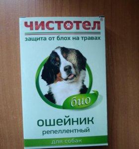 Чистотел ошейник био репеллентный для собак