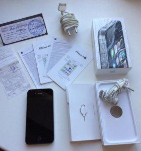 Айфон 4s 8гб черный