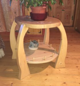 Мебель, посуда из дерева