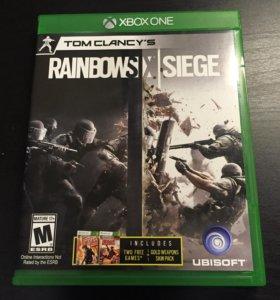 Диск Xbox one rainbow six siege