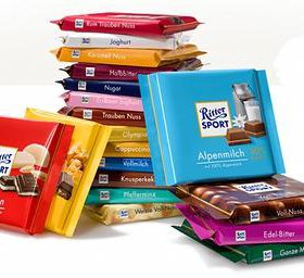 Шоколад Ritter sport (риттер спорт)
