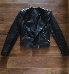 Кожаная куртка Zara💎💦