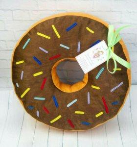 Подушка-пончик(на заказ)