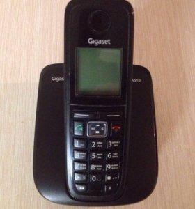 Телефон GIGASET A510, черный.