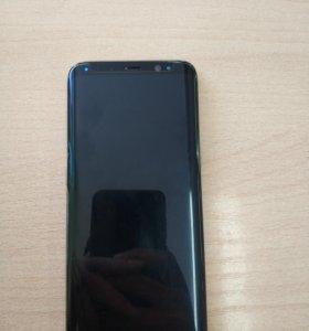 Samsung s8 новый+колонка+беспроводная зарядка