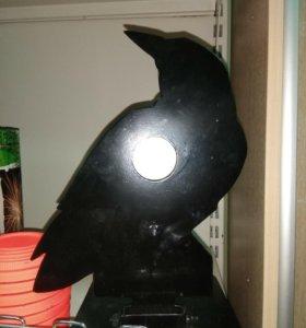Мишень металлическая складная - птица