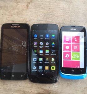Обмен три телефона на один!