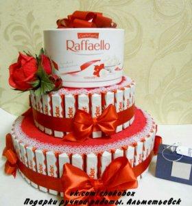 Оригинальный подарок, торт.