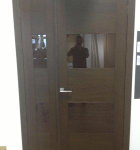 Дверь Волховец Quadro 4115 дуб темный