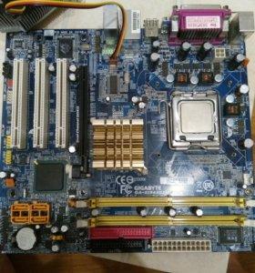 Продам две материнская плата DDR 2 в месте процес.