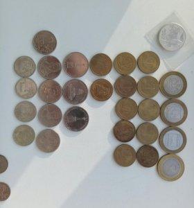 Коллекция юбилейных монет.