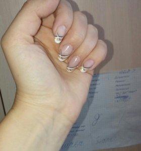 Наращивание ногтей,дизайн.