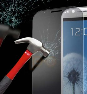 Стекло защитное Samsung S4/S5/A3/A5/S6/S7 и др