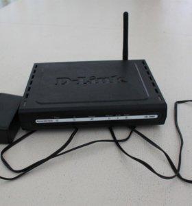 Модем D-Link DSL-2600U. Wi-Fi роутер
