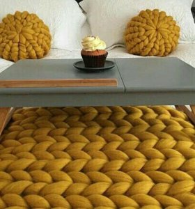 Меринос пледы, подушки