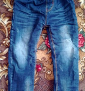 мощные джинсы
