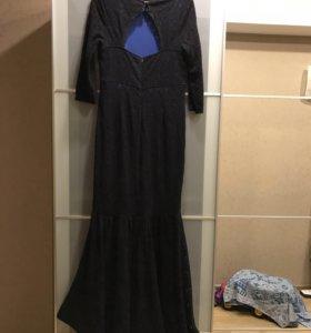 Новое гипюровое платье 52р