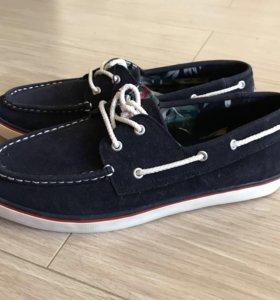 Новая мужская обувь Zara мокасины