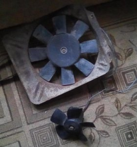 Вентилятор радиатора и печки ваз