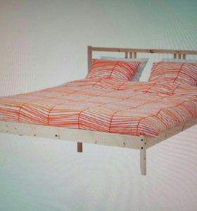 IKEA Каркас Двуспальной кровати + Ламели!