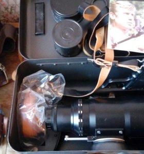 Фоторужье-фотоснайпер с объективом