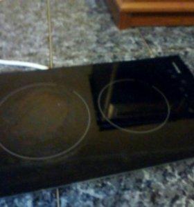 Плита кухонная электрическая. 2 конфорки