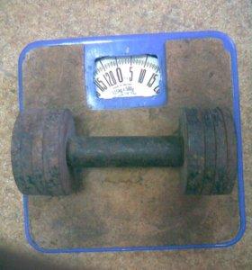 Гантеля 4 кг