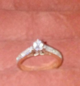 Золотое кольцо новое
