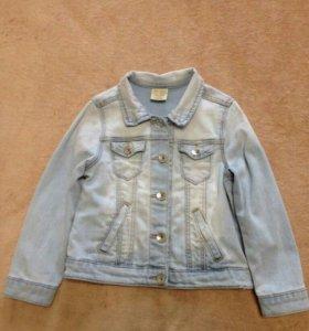 """Джинсовая куртка""""Zara"""" для девочки"""