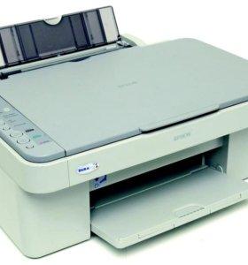 МФУ Epson CX3500 и HP Deskjet F2493