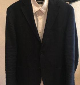 Пиджак Massimo Dutti (лён)