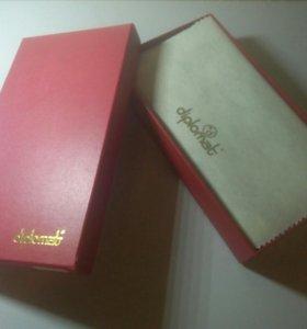 Мужское кожаное портмоне Diplomat SK-026-1-(2)