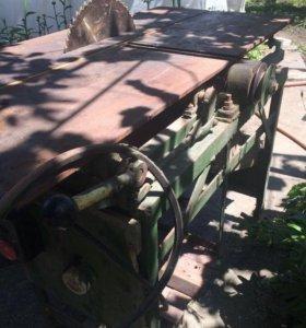 Деревообрабатывающую станок без двигателя