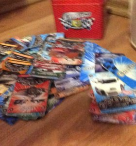 Продам карточки супер гонки