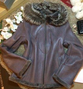 Куртка-дубленка IVAGIO Италия р.44