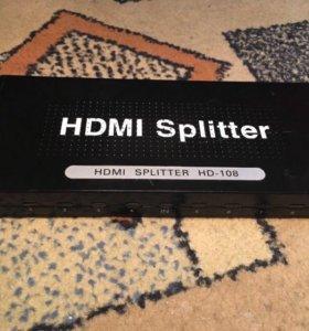 Hdmi splitter HD-108