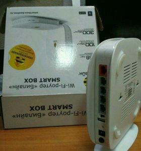 Роутер беспроводной WiFi с USB Beeline Smart Box
