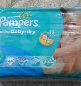 Подгузники PAMPERS Active Baby 11-18 кг., 44 шт.