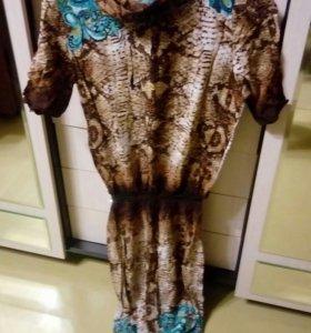 Красивое платье в пол 50-52 размер