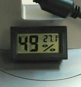 Термометр гигрометр новый