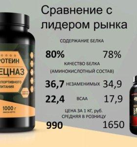 ВСАА растительный протеин