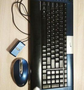 Клавиатура с мышью беспроводные