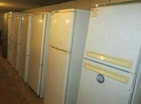 Забираем неисправные холодильники