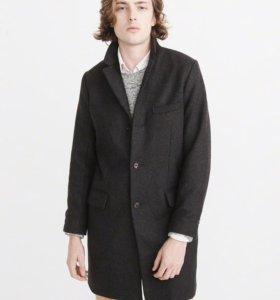 Пальто новое мужское шерстяное XS
