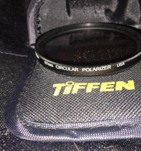 Поляризационный фильтр 67mm TIFFEN новый