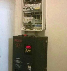 Электромонтаж под ключ электрик замена счётчика