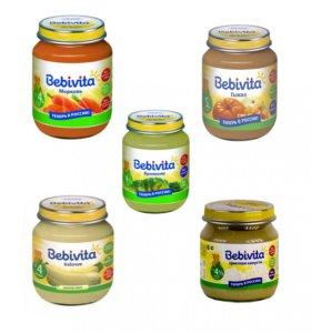 Овощные пюре Bebevita 87 шт